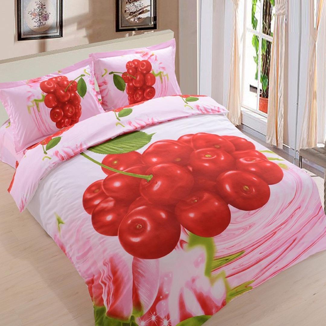 3d Cherry Bedding set