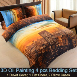 3d New York city Bedding set