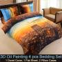 3d New York city Bedding set