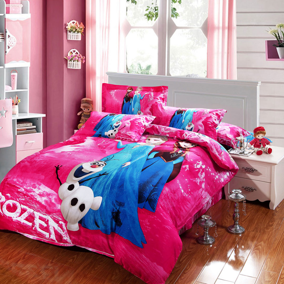 Attractive Disney Frozen Bedding Set
