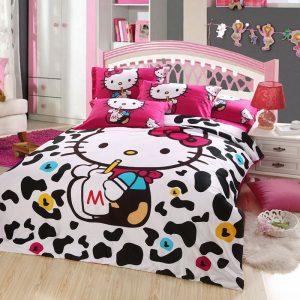 hello kitty bedding set twin queen size 99 00 129 00 this hello kitty