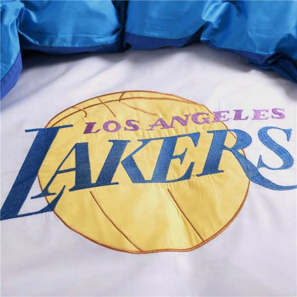 Los Angeles Lakers Basketball Bedding Set 7