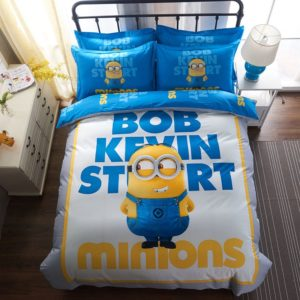 Minion Bedding Set Queen King Size (1)