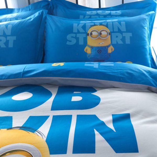 Minion Bedding Set Queen King Size 5 600x600 - Minion Bedding Set Twin Queen King Size