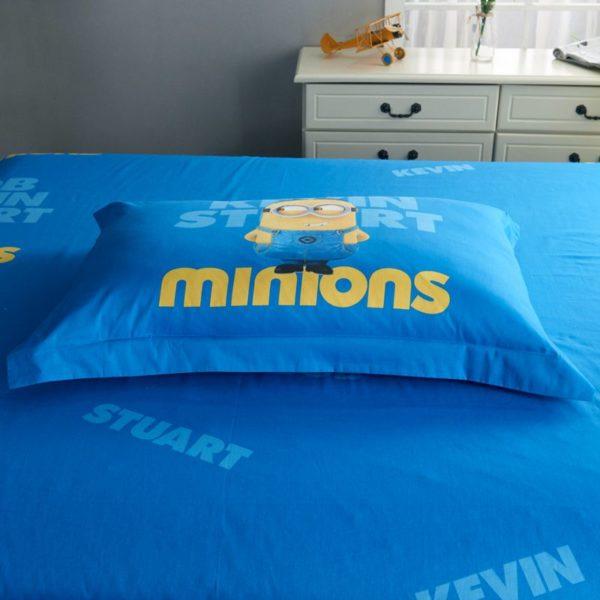 Minion Bedding Set Queen King Size 9