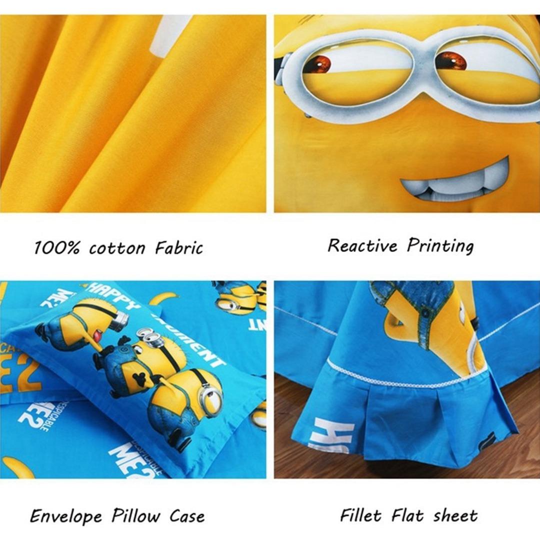 Minion bedding set