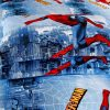 Spiderman pillow case 100x100 - Spiderman bedding set Queen size