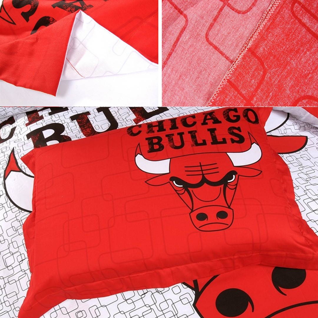 chicago bulls bed set