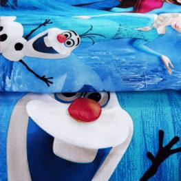 Disney Frozen Bedding set blue Pillow cases
