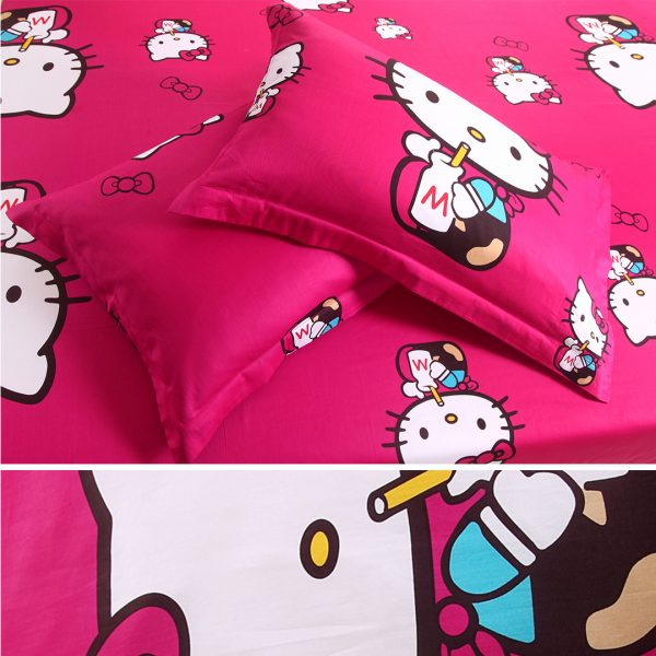 hello kitty bed set