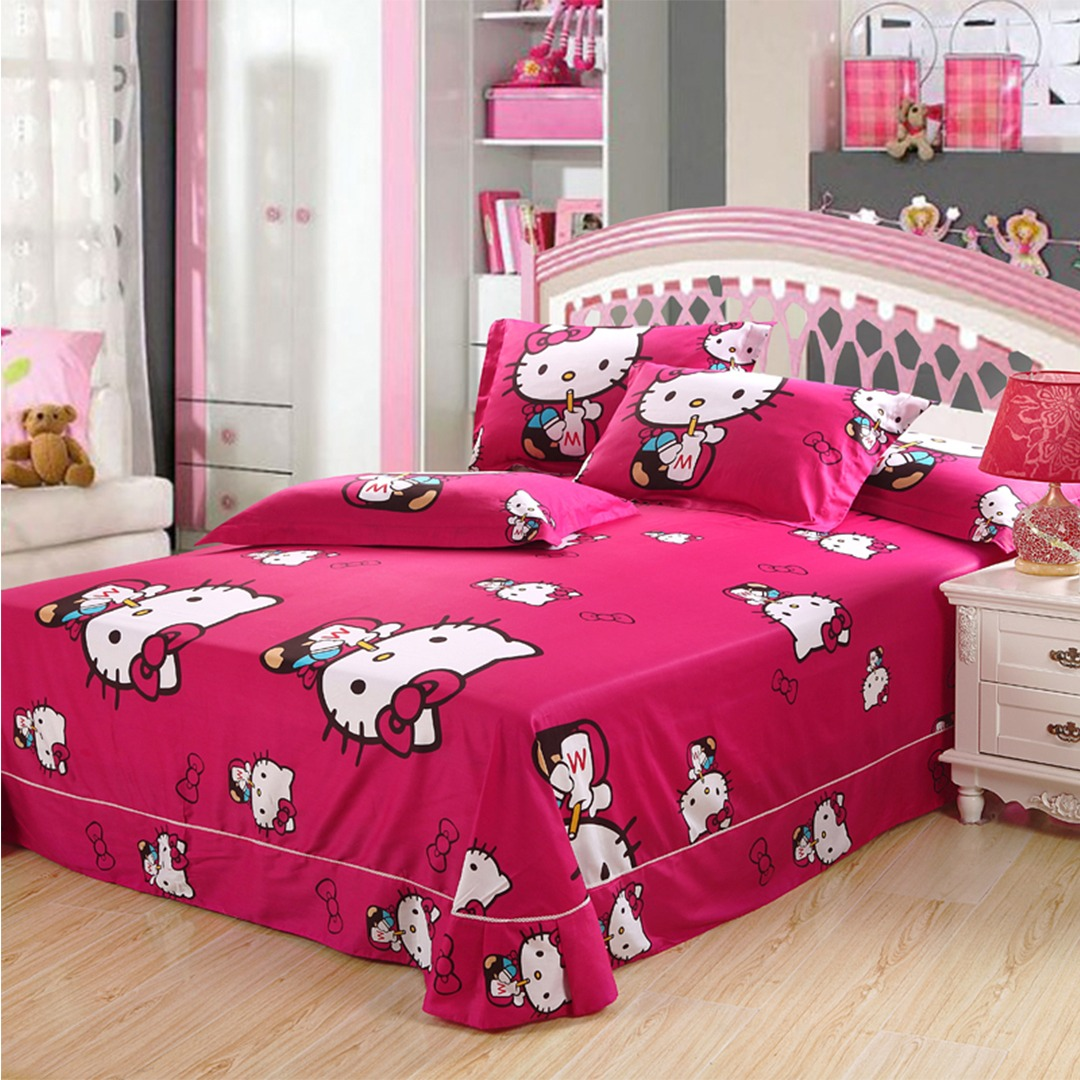 Pink hello kitty bedsheet - Hello Kitty Bedding Sets Hello Kitty Bedding Set