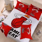 miami heat bedding set