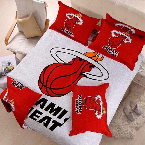miami heat bedding set