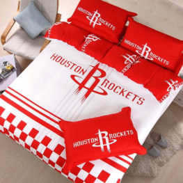 nba houston rockets bedding