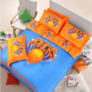 New york knicks basketball bedding set