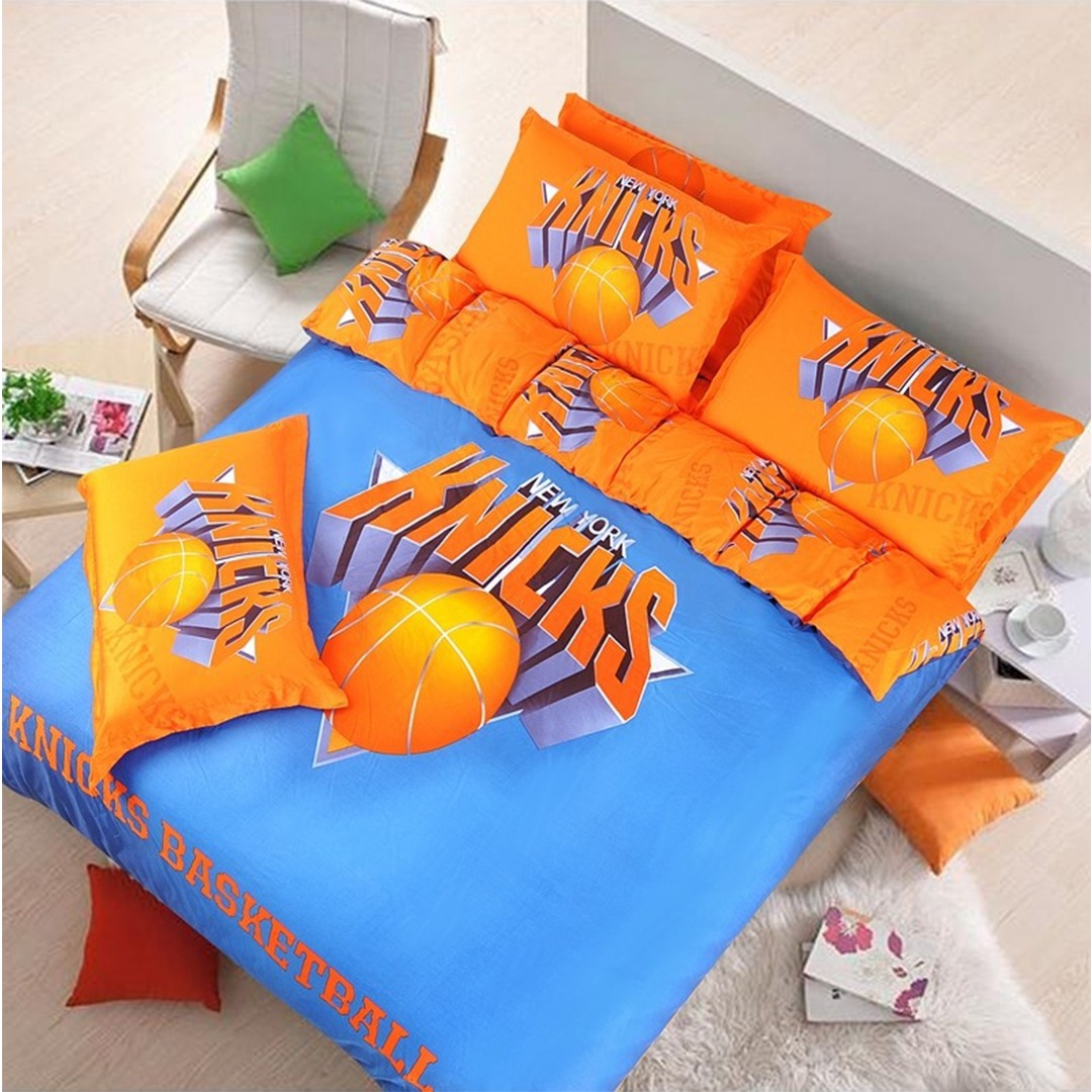 New York Knicks Basketball Bedding Set Ebeddingsets