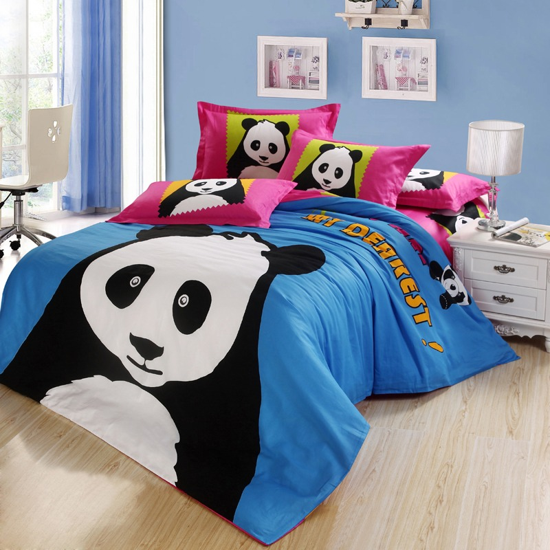 Panda bear bedding set
