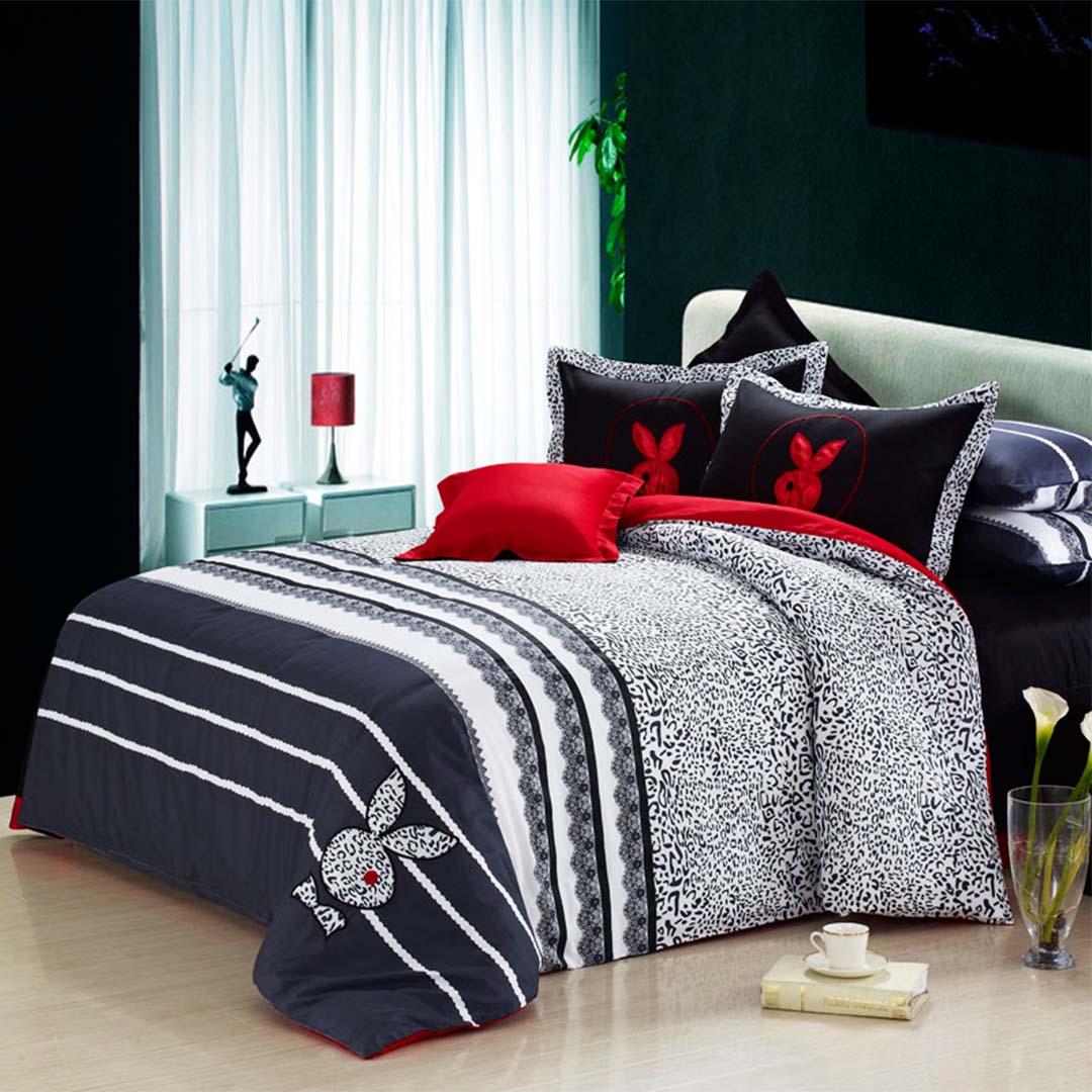 playboy bedding set