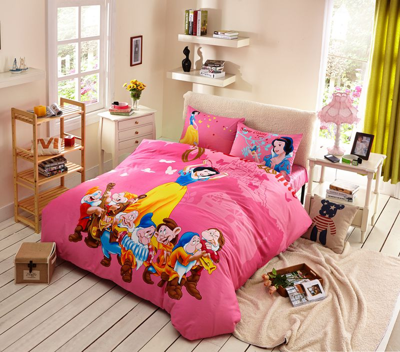 Snow White Bedding Set Twin Queen, White Bedding For Twin Bed