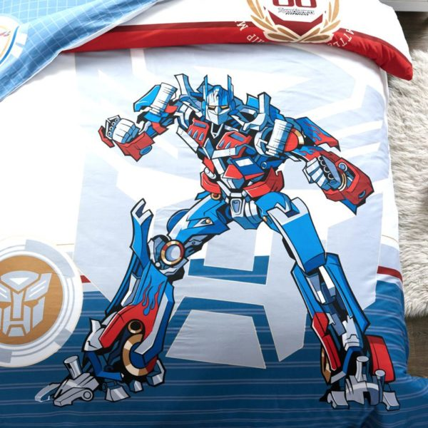 transformers bedding set 2 600x600 - Transformers bedding set 100% Cotton 5pcs