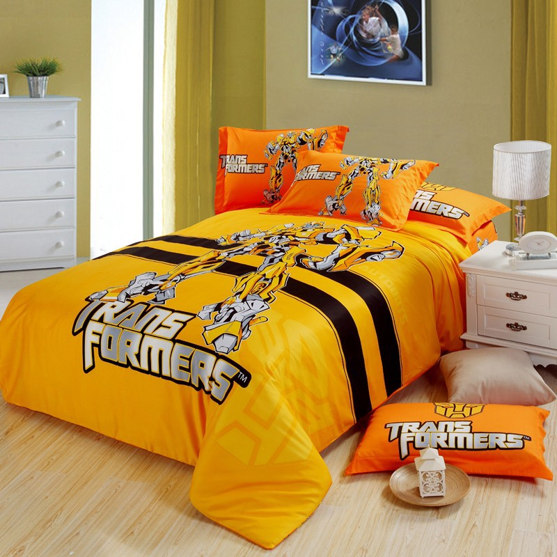 transformers bedding set