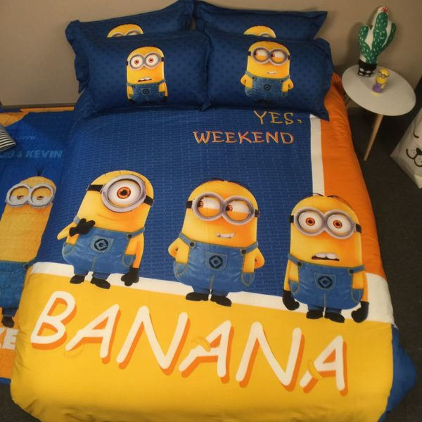 Minion Comforter Set Twin Queen King Size (1)