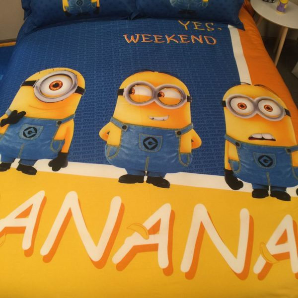 Minion Comforter Set Twin Queen King Size 3 600x600 - Minion Comforter Set Twin Queen King Size