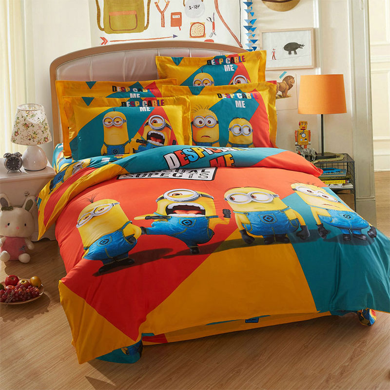 Minion bedding set