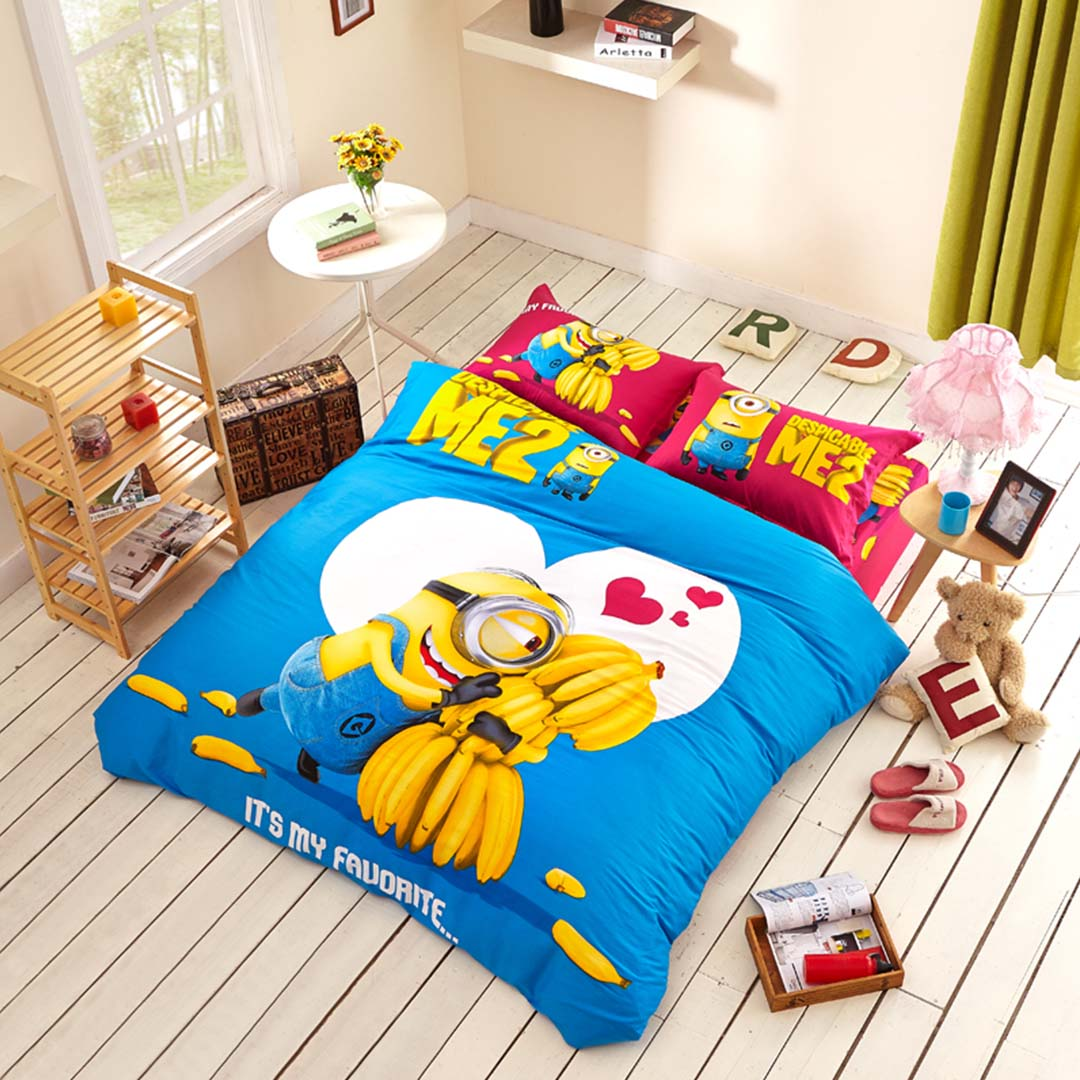 Minion Comforter Set