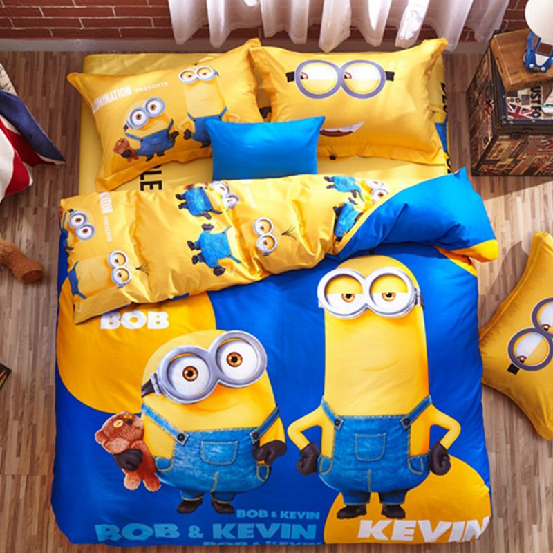 Despicable Me Minion Bed Set Ebeddingsets, Wolf Bed In A Bag Queen