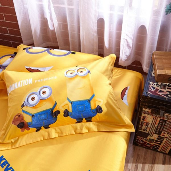 Despicable Me Minion Bedding Set Bed In Bag 9 600x600 - Despicable Me Minion Bedding Set Bed In Bag