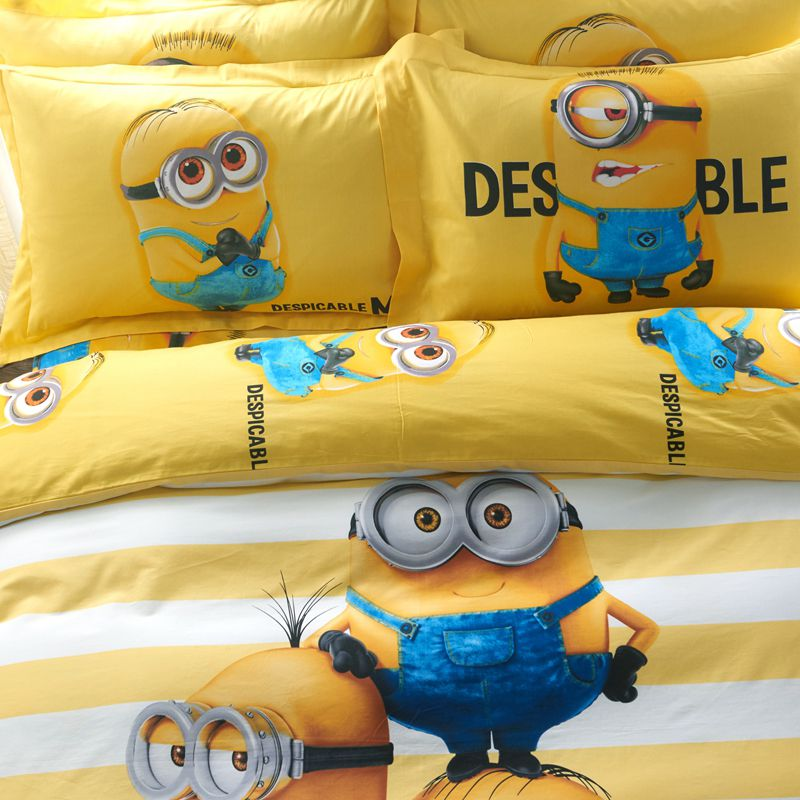 Minion Bed Sheets Set Ebeddingsets
