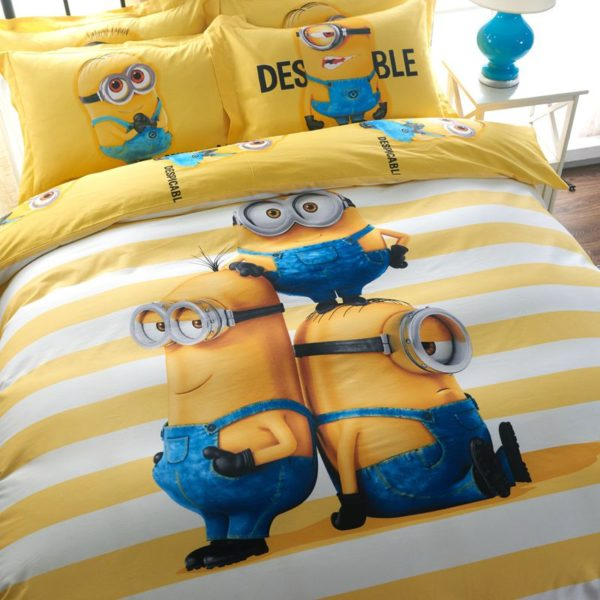 Minion Bed Sheets Set 4
