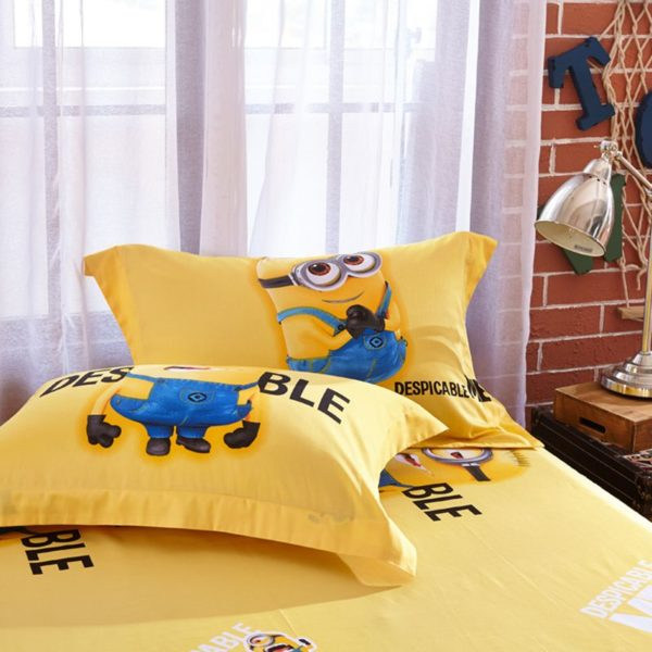 Minion bed set Queen King Twin size 5 2 600x600 - Minion Bed Set Queen King Twin Size