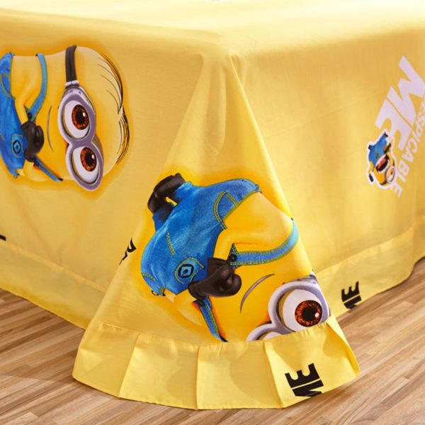 Minion bed set Queen King Twin size 7 600x600 - Minion Bed Set Queen King Twin Size