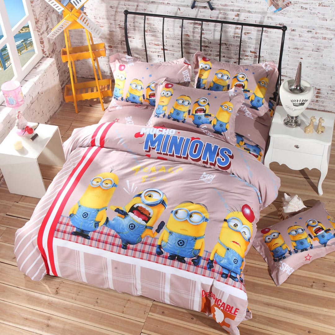 Minion Bed Sheets Set Ebeddingsets
