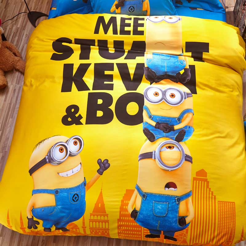 Minion Bed Sheets Twin Size
