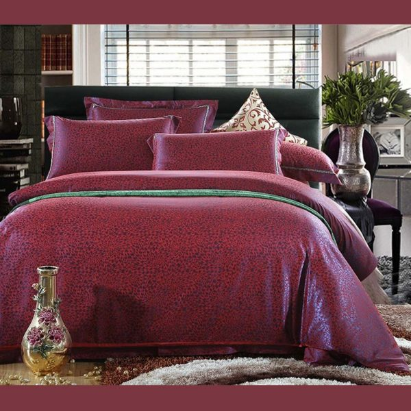Red Luxury Bedding Set