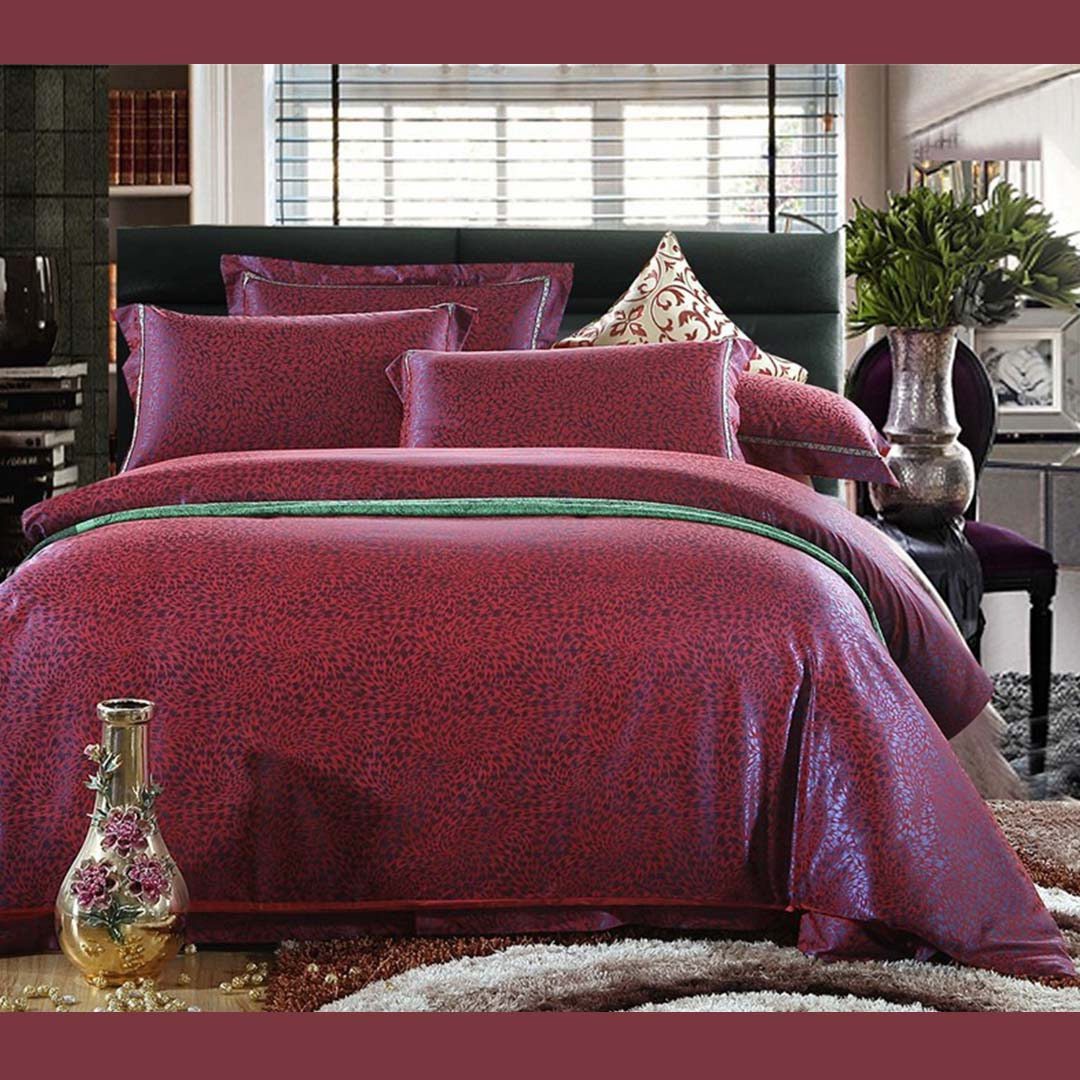 Red Luxury Bedding Set