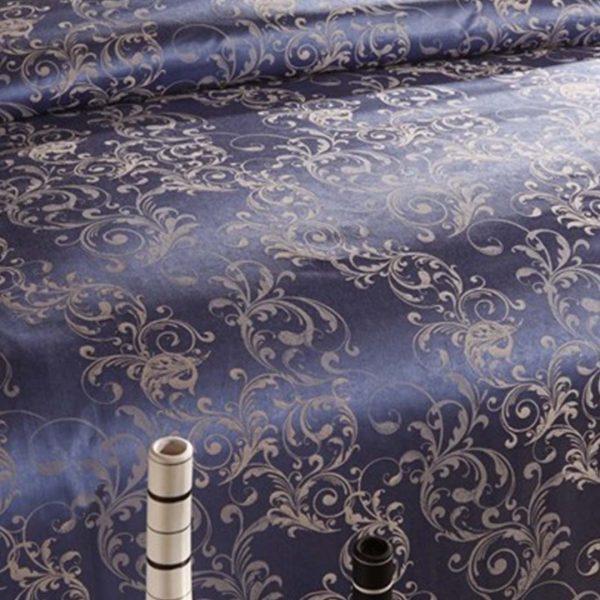 bedding 24 600x600 - Blue Luxury Bedding Set - 100% Cotton