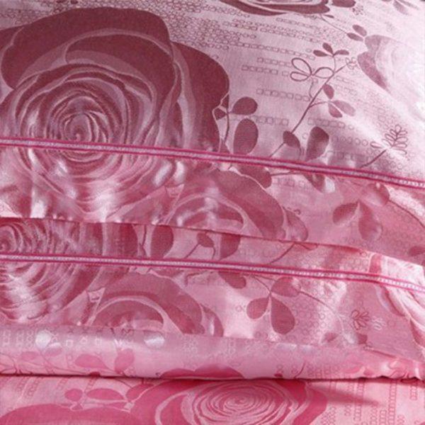 Light Pink Bedding set pillow cases