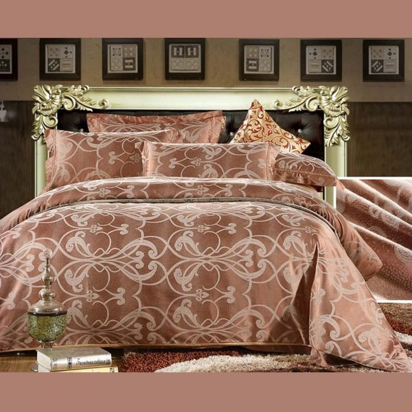 bedding3 600x600 - Luxury Brown Bedding Set Queen, Full & King Size