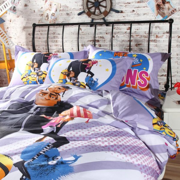 despicable me bed set bedrrom decor