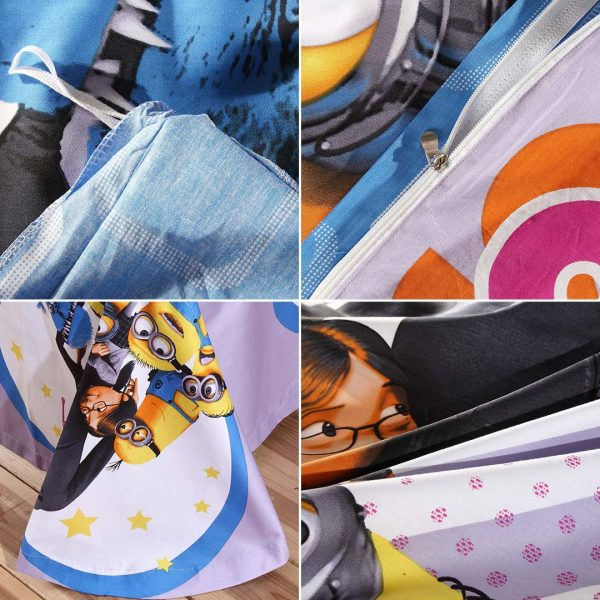 despicable me bed set collection