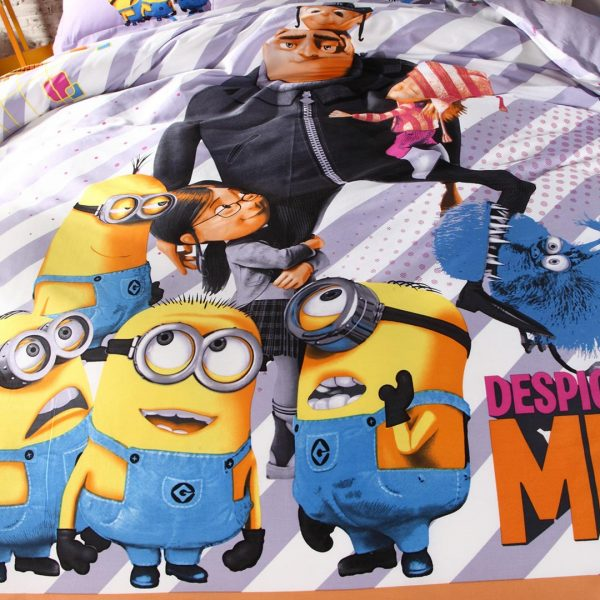 despicable me bed set comforter