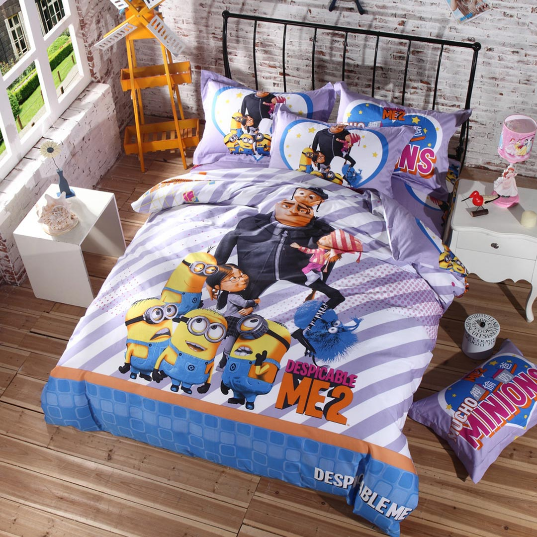 Despicable Me Bed Sheets Queen