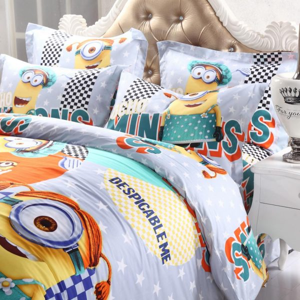 despicable me bedding set for kids