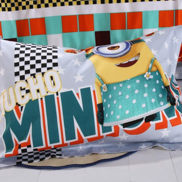 despicable me bedding set pillow case