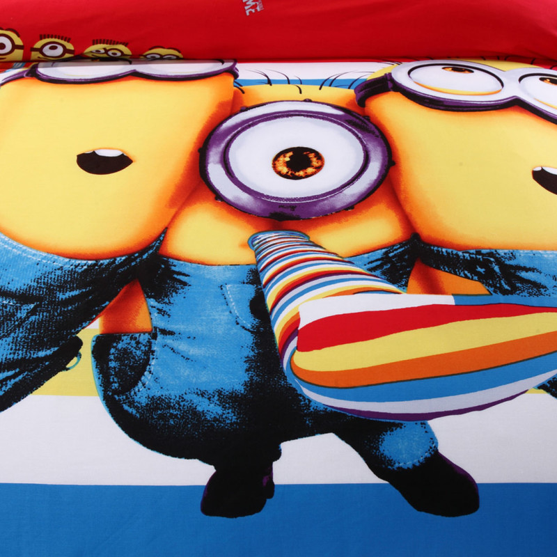 Buyer Protection: Despicable Me Minion Bed Set