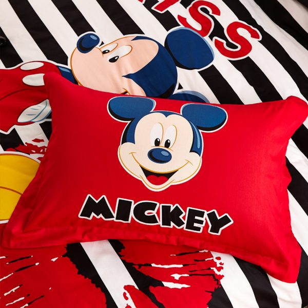 mickey mouse comforter set pillow case